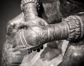 Boxer Photograph. Ancient Roman Statue Photo. Hands Photograph. Black and White. Boxing. Straps. Fine Art Photography.