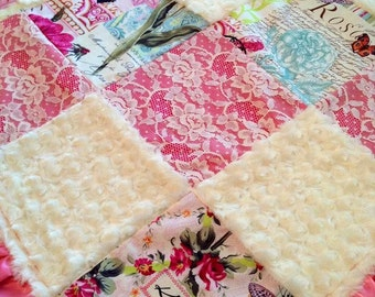 French Lace Blanket
