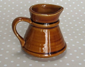 Vintage Small Prinknash England Caldey Island Earthenware Collectable Cream Milk Jug