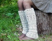 Choose Your Color - Knit Leg Warmers, Women's Leg Warmers, Pixie Leg Warmers, Festival Leg Warmers, Made To Order