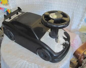 Little Black Toddler Riding Toy Car /