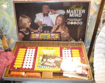 Royal Master Mind Game,Vintage Board Game,Game, Strategy Board Game  1975 :)S,