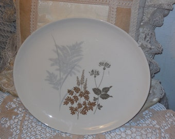 Vintage Platter, Celestial Fine China Fernwood Platter, Vintage Dishes, Vintage Kitchen, Table Decor, Kitchen decor,  S :)s
