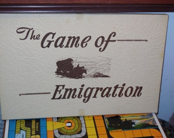 Emigration Vintage LDS Game 1947 Very Rare and Hard to Find / Complete Game /NOT Included in Clearing Out Sale New Listing. :)