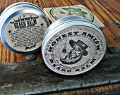 Honest Amish Beard Balm - 4 OUNCE TIN - Big -  Natural and Organic Conditioner