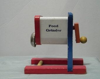Vintage 1940's Doepke Food Grinder Toy