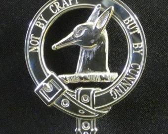 Todd Scottish Clan Crest Badge