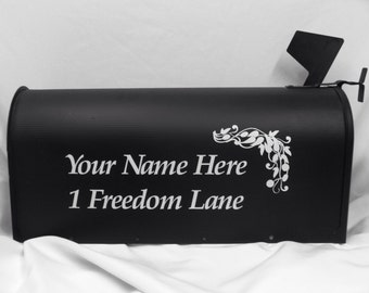 Custom Mailbox Lettering, Names and/or Address