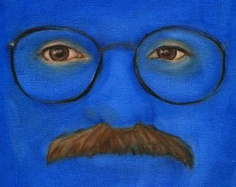 Arrested Development Tobias Funke Portrait Print - Blueman