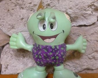 1993 Good Stuff Pleather Alien Hanging Doll