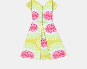 Orrigami Paper dress, Happy Birthday
