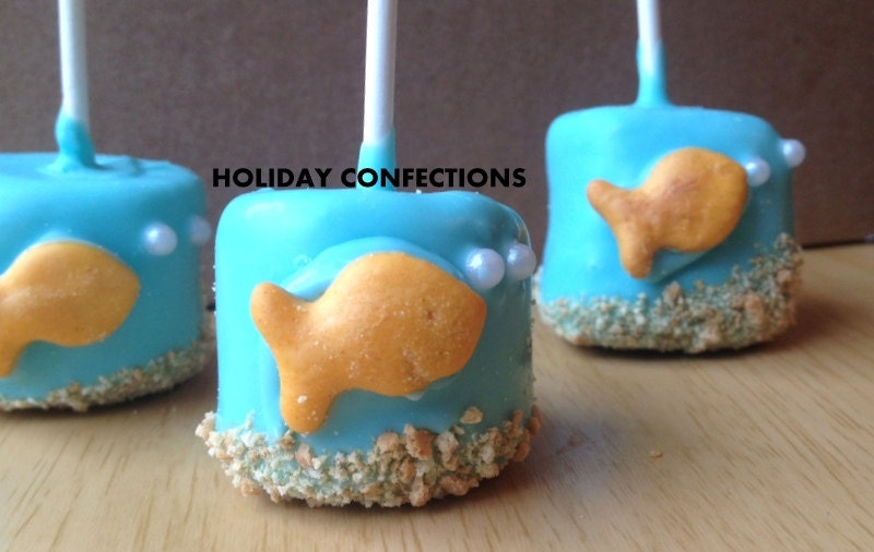 Marshmallow treats Chocolate covered marshmallow kids
