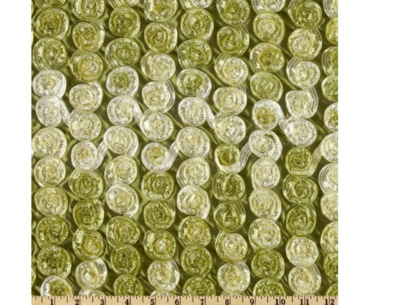 "CLEARANCE One yard of Olive Honeycomb Rosette lowest price on Etsy 56""x72"" photography prop, newborn, bean bag cover"