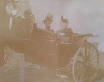 Car Ride Vintage Photograph