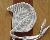 Baby boy hat,Baby boy helmet hat,Hand Knit earflap hat,Made to order.