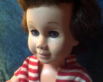 SALE Brunette Chatty Cathy Vintage Original Doll