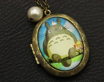 Necklace Medallion picture totoro
