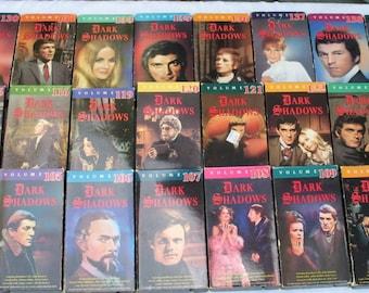 Dark Shadows VHS Tapes Lot 76 VCR # 103-200 Barnabus Collins TV Series