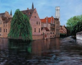 "Limited Edition Giclee of Original Oil on Canvas - ""Bruges"""