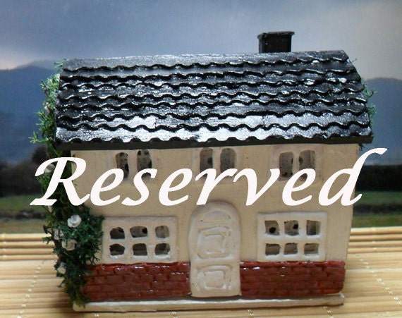 Reserved for Susan