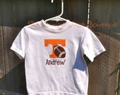 Personalized University of Tennessee Football T-shirt