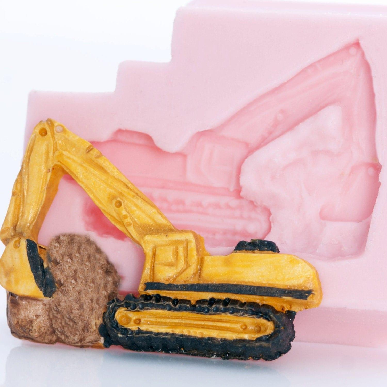 Excavator Cake Pan