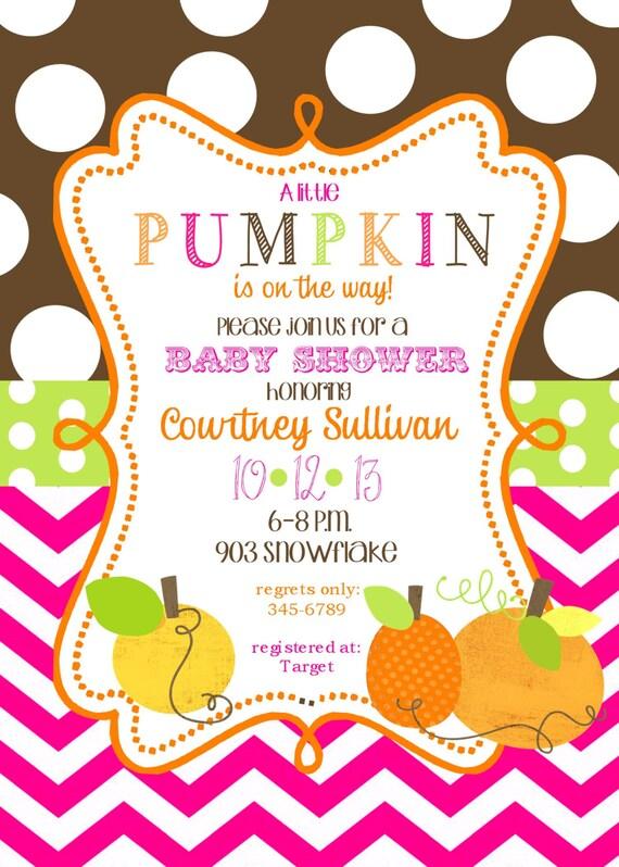 12 pumpkin baby shower invitations with envelopes pumpkin fall