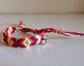 Classic Friendship Bracelet with Swarovski Crystal Heart
