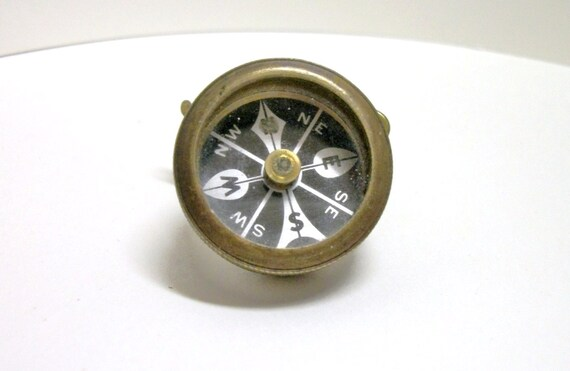Vintage Marble S Gladstone Pin On Compass Usa