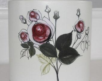 Stunning vintage flower vase by Hilkka-Liisa Ahola for Arabia Finland