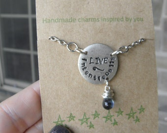 Live Intentionally Necklace