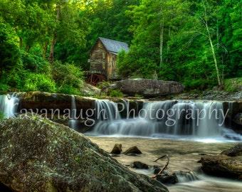 Grist Mill Photograph
