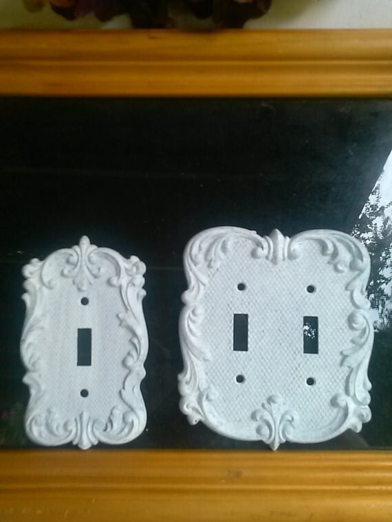 Metal Light Switch Plate Switch Cover Set Of 2 Lighting