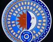 "FREE SHIPPING - Ouija board - Spiritistic board - Talking board ""The Heavenly Spheres"""