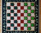 """FREE SHIPPING The checkers game - The board game """"Fairy ring"""""""
