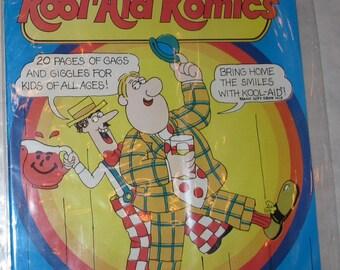 Vintage kool aid comic book