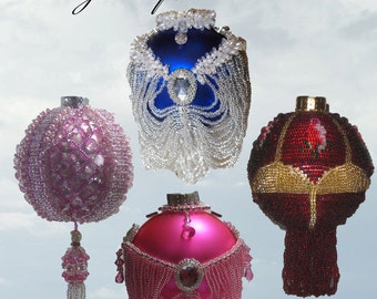 Beaded Christmas Ornament Patterns - Pay with Paypal and get a 5 dollar rebate