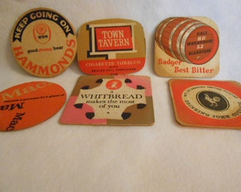 Vintage English Costers