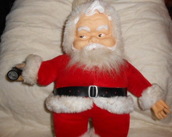 Coke Cola Santa Doll