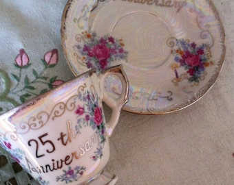 25th Anniversary Cup and Saucer
