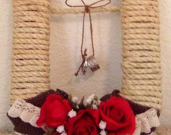 Ring Bearer...Alternative...HORSESHOE...Country Chic...Barn Wedding...Woodland