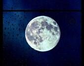 Moon through the view