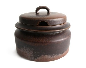 Vintage // Arabia of Finland // Ruska lidded bowl // Ulla Procopé // Finland