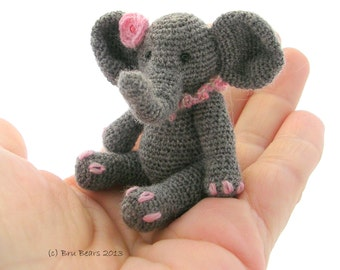 Ellie Elephant crochet pattern