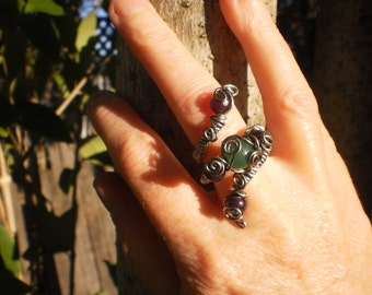 Bohemian Forest Ring