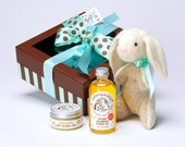 Buttercup Handmade Bunny Baby Gift Box