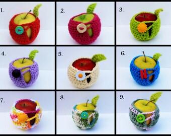 Crochet Apple Cozy - You Pick The Color