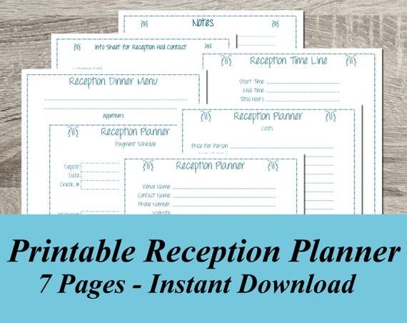 Decisive image with printable wedding planner pdf