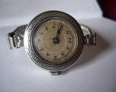 Beautiful vintage Swiss ladies wrist watch circa 1910/20s - recently serviced