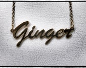 "16"" Ginger' necklace"